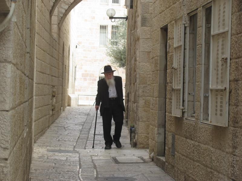 old jewish man jerusalem