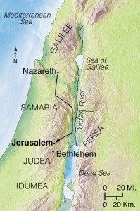 Samaria - Judea in the 1st century