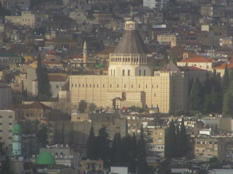 church of announcement nazareth