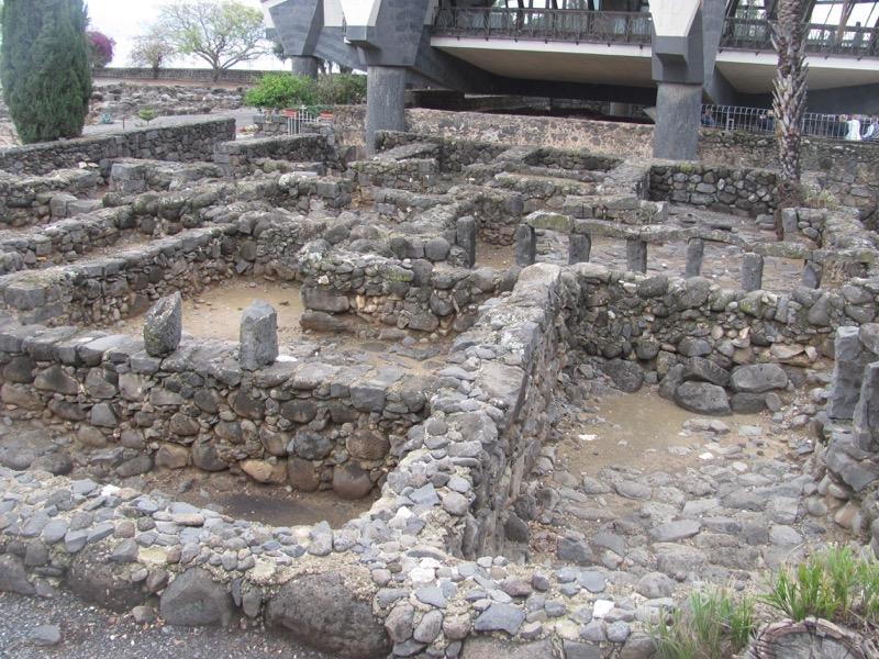 ruins capernaum