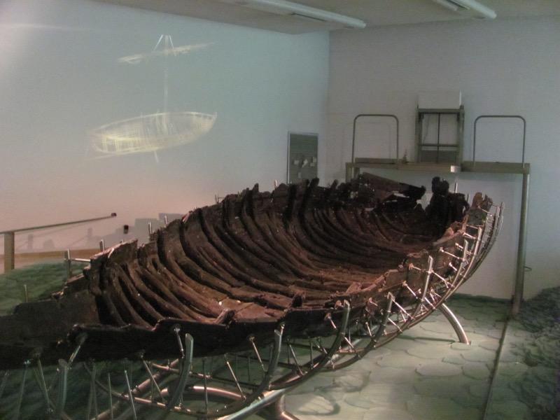 ancient jesus boat nof ginnosar