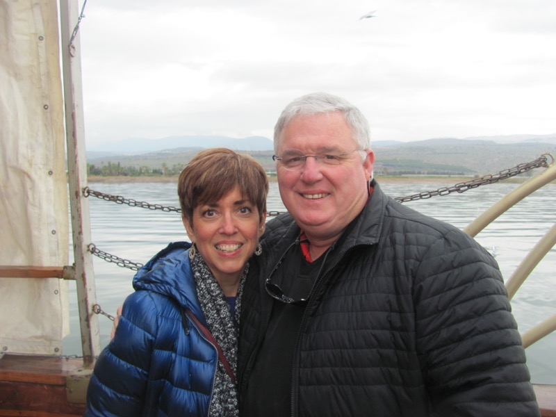 sea of galilee boat ride january 2016 israel group