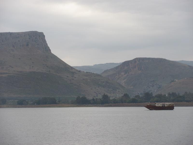 sea of galilee arbel cliffs