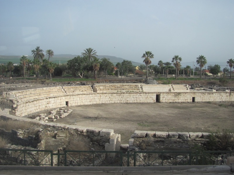 amphitheater beth shean