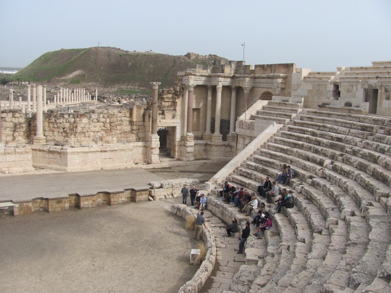 theater beth shean