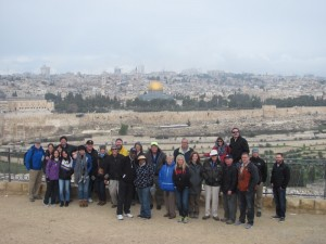 Jerusalem (from the Mt. of Olives)