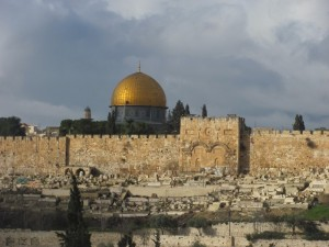 Eastern Gate and Dome of the Rock