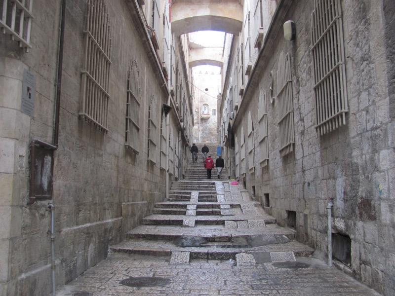 old city jerusalem street