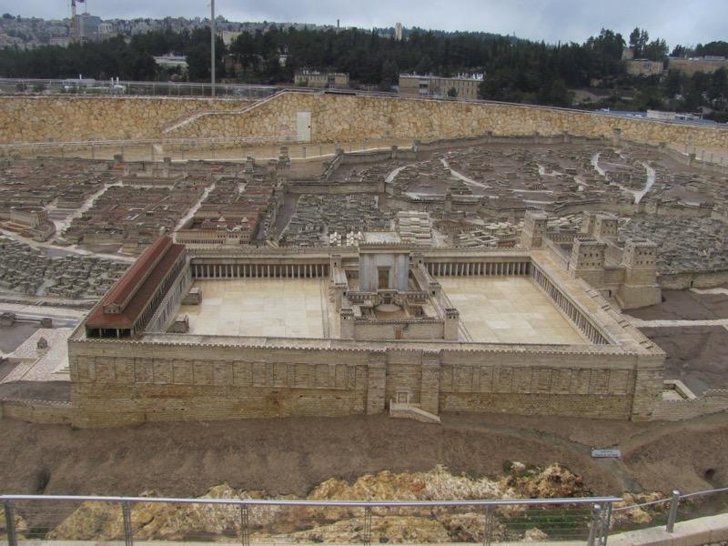 jerusalem model israel museum