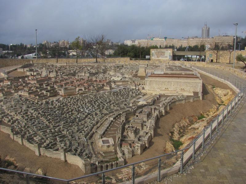 israel museum jerusalem model