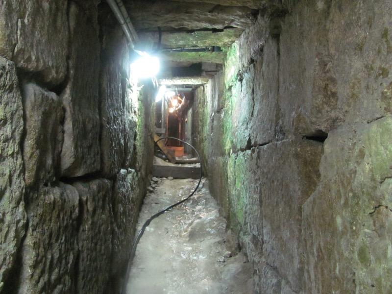 inside hezekiah's tunnel