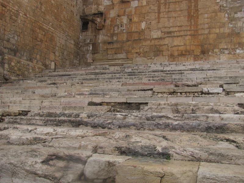 herodian stone S corner of temple mount
