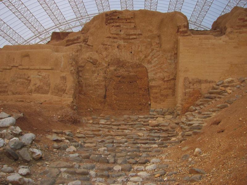 mud brick gate tel dan