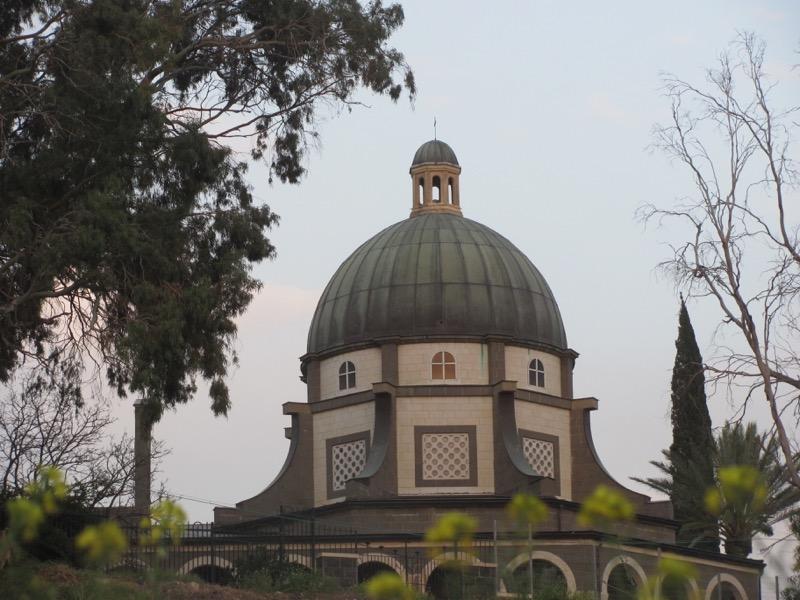 chapel of mt of beatitudes