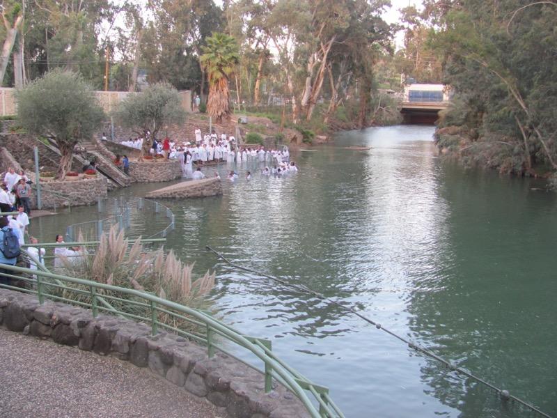 baptism jordan river yardenit