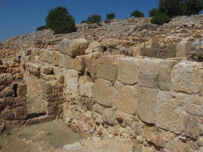 iron age wall shiloh