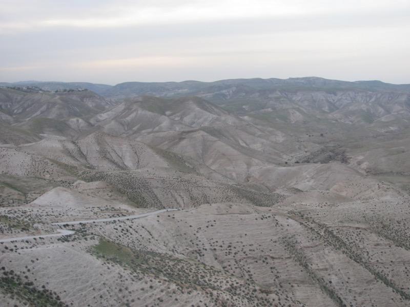 judean wilderness wadi qelt