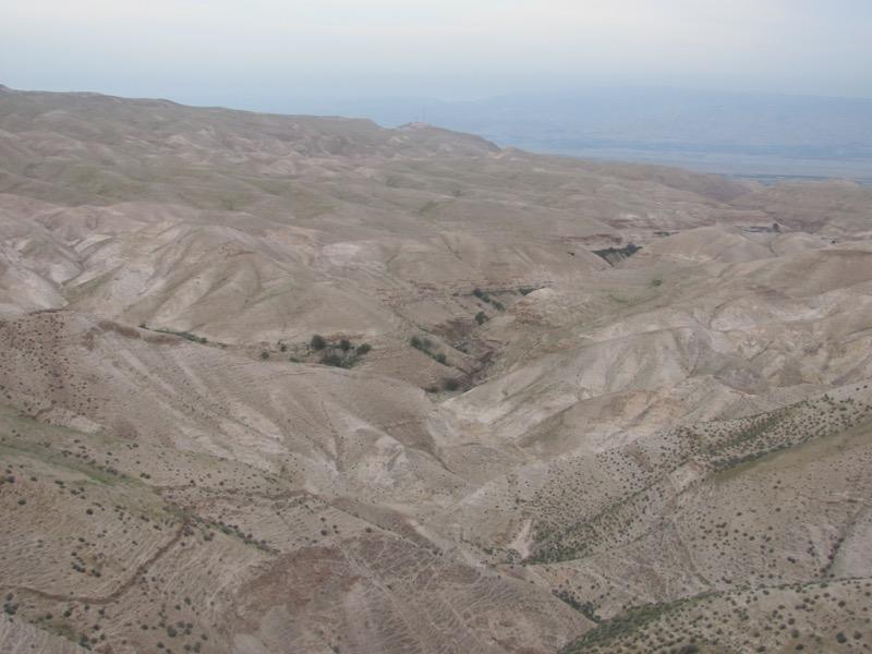 judean desert wadi qelt
