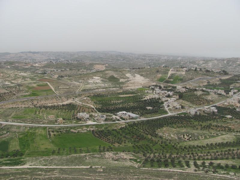 judean desert near herodium