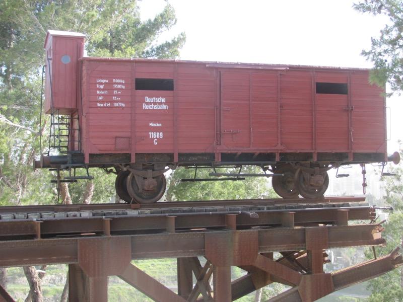 train car yad vashem