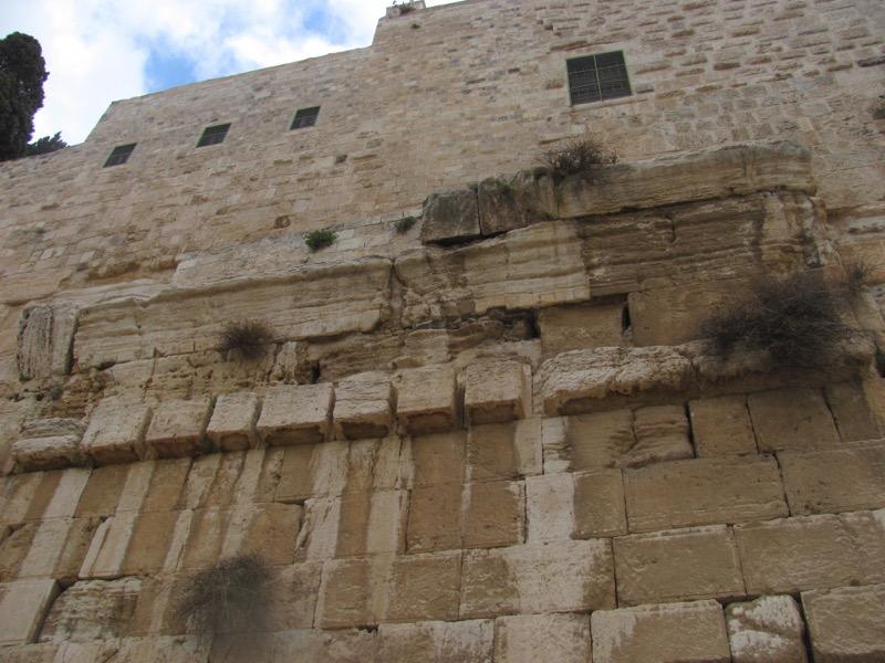 robinson's arch jerusalem