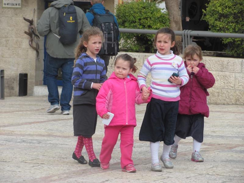 jewish children Jerusalem