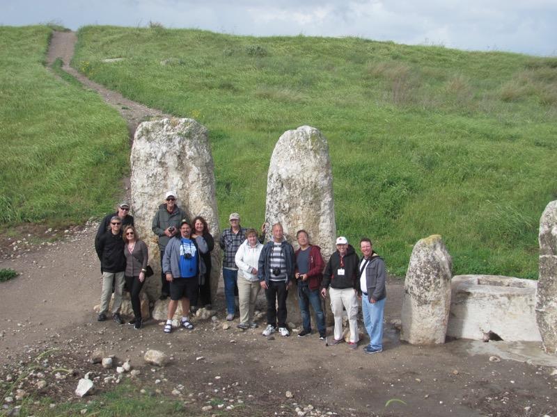 gezer high place standing stones