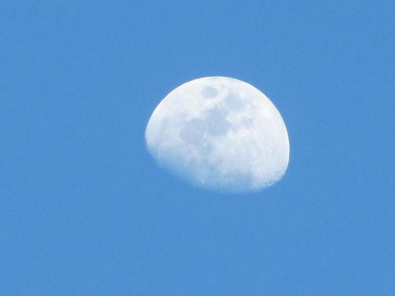 moon at petra
