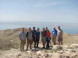Standing on top of Machearus, Jordan