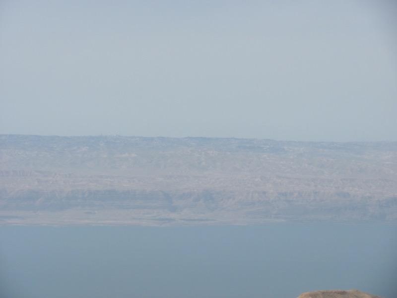 dead sea from machaerus jordan makawir