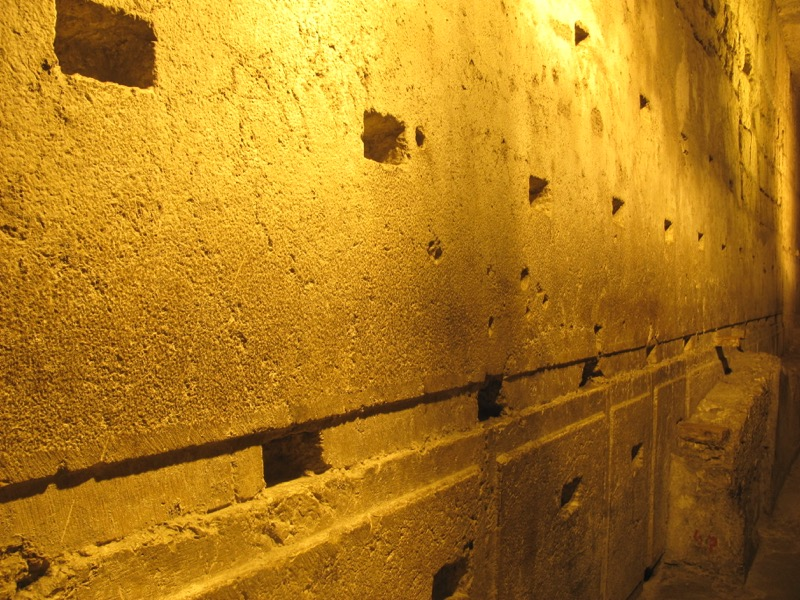 master course western wall tunnel