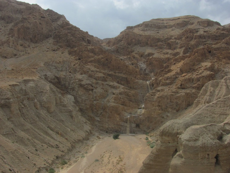 qumran mudslide flash flood