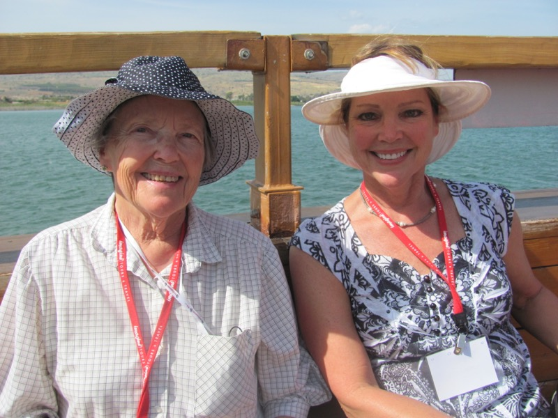 sea of galilee boat ride April 2016