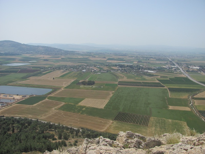 jezreel valley