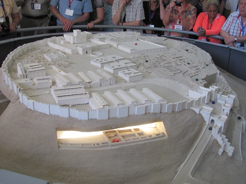 model of megiddo