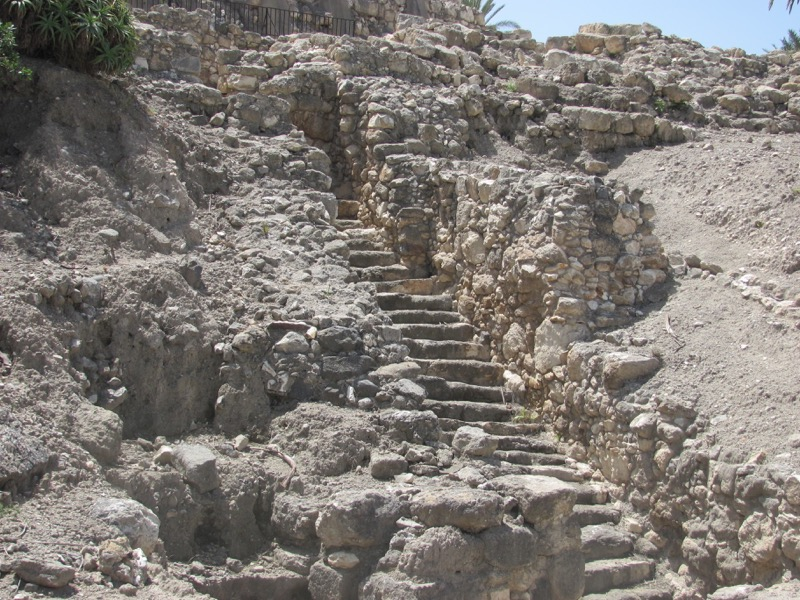 canaanite gate megiddo