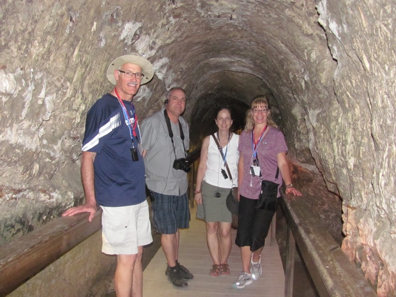 water system tunnel at megiddo