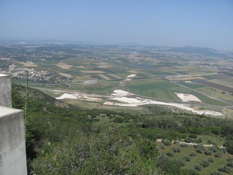jezreel valley fro muhraqa