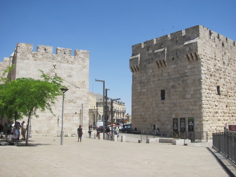 jaffa gate old city