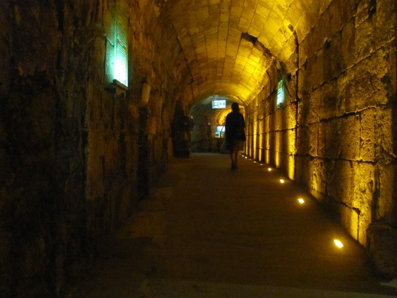 rabbinical tunnel jerusalem
