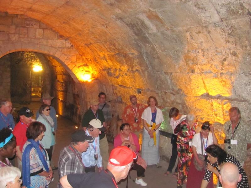 rabbinical western wall tunnel