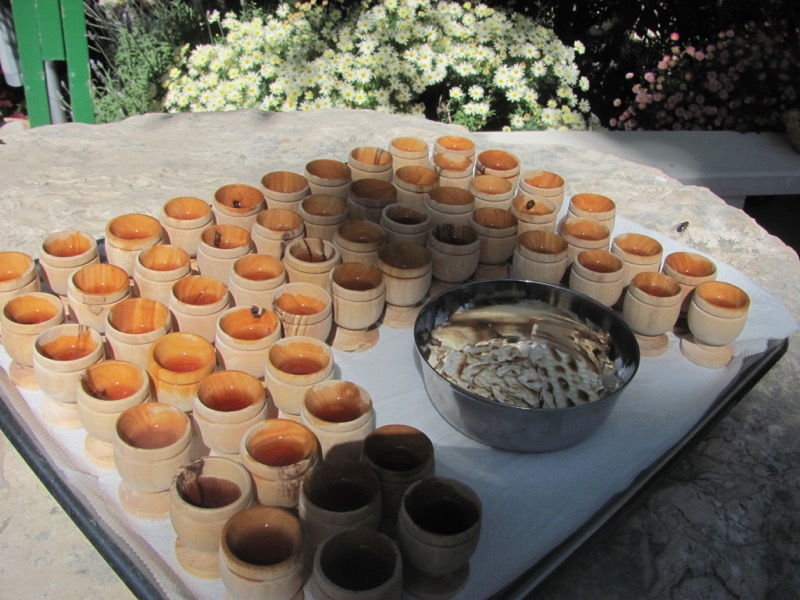 communion at garden tomb