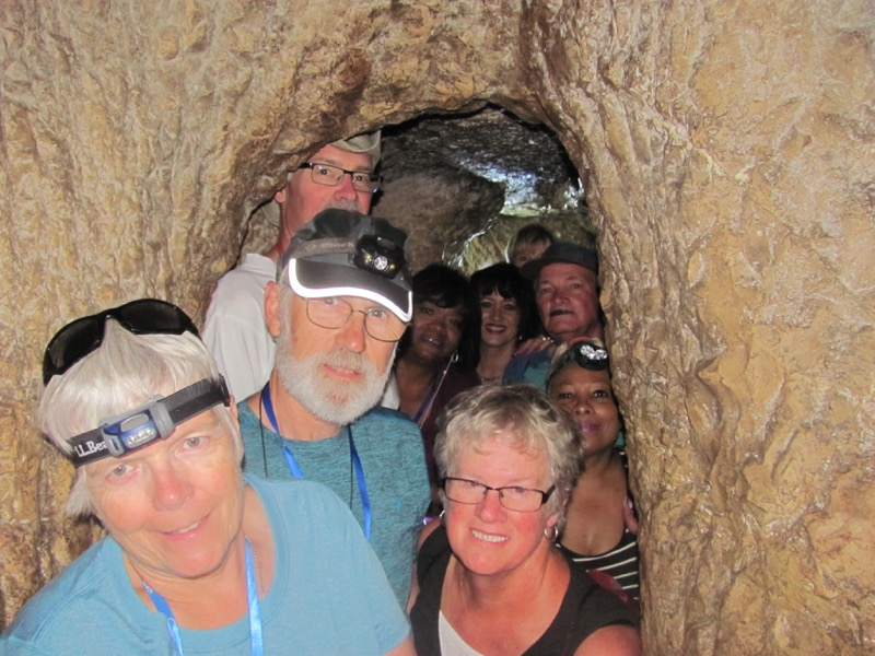 middle of hezekiah's tunnel