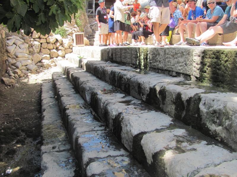 steps of siloam pool