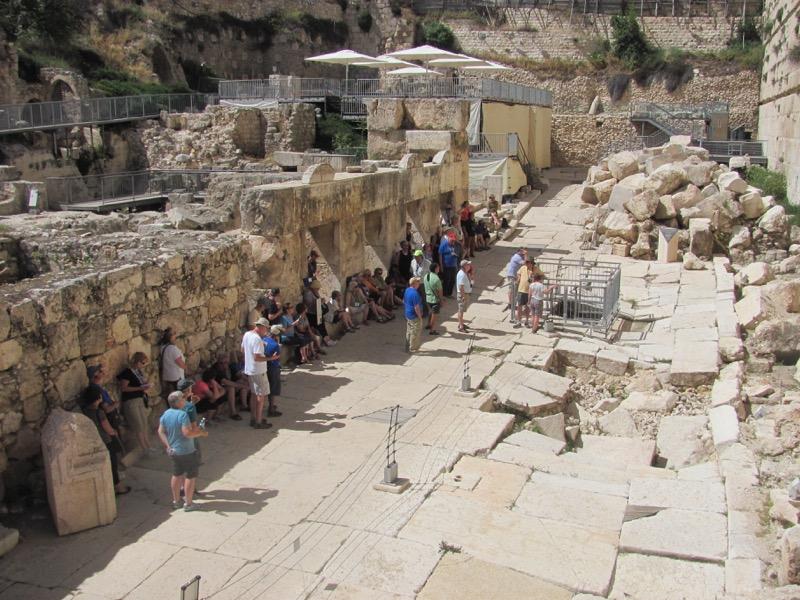 south wall excavations jerusalem