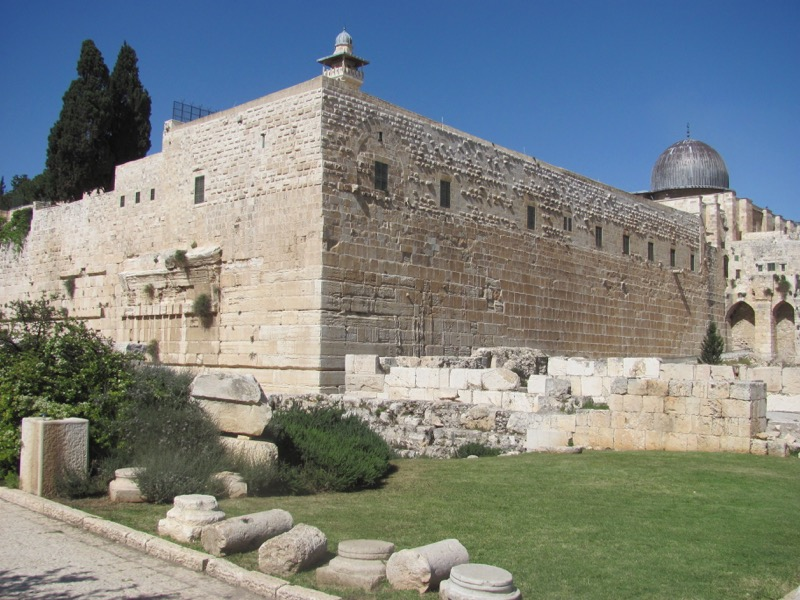 sw corner of temple jerusalem