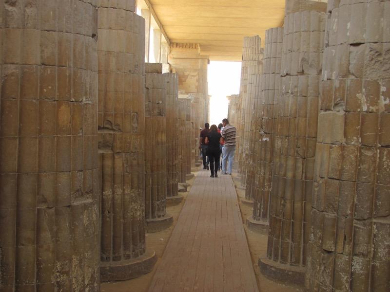 sakkara temple