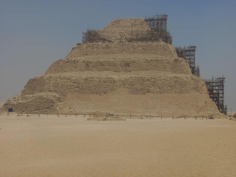 sakkara pyramid