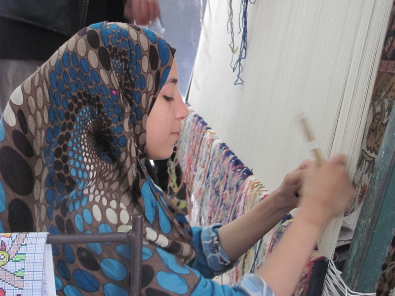 carpet weaving sakkara