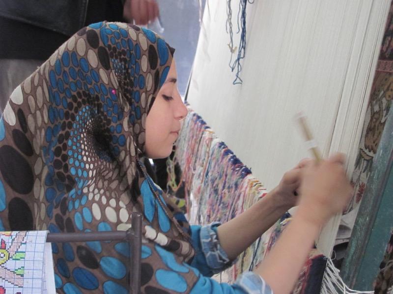 carpet weaving sakkara
